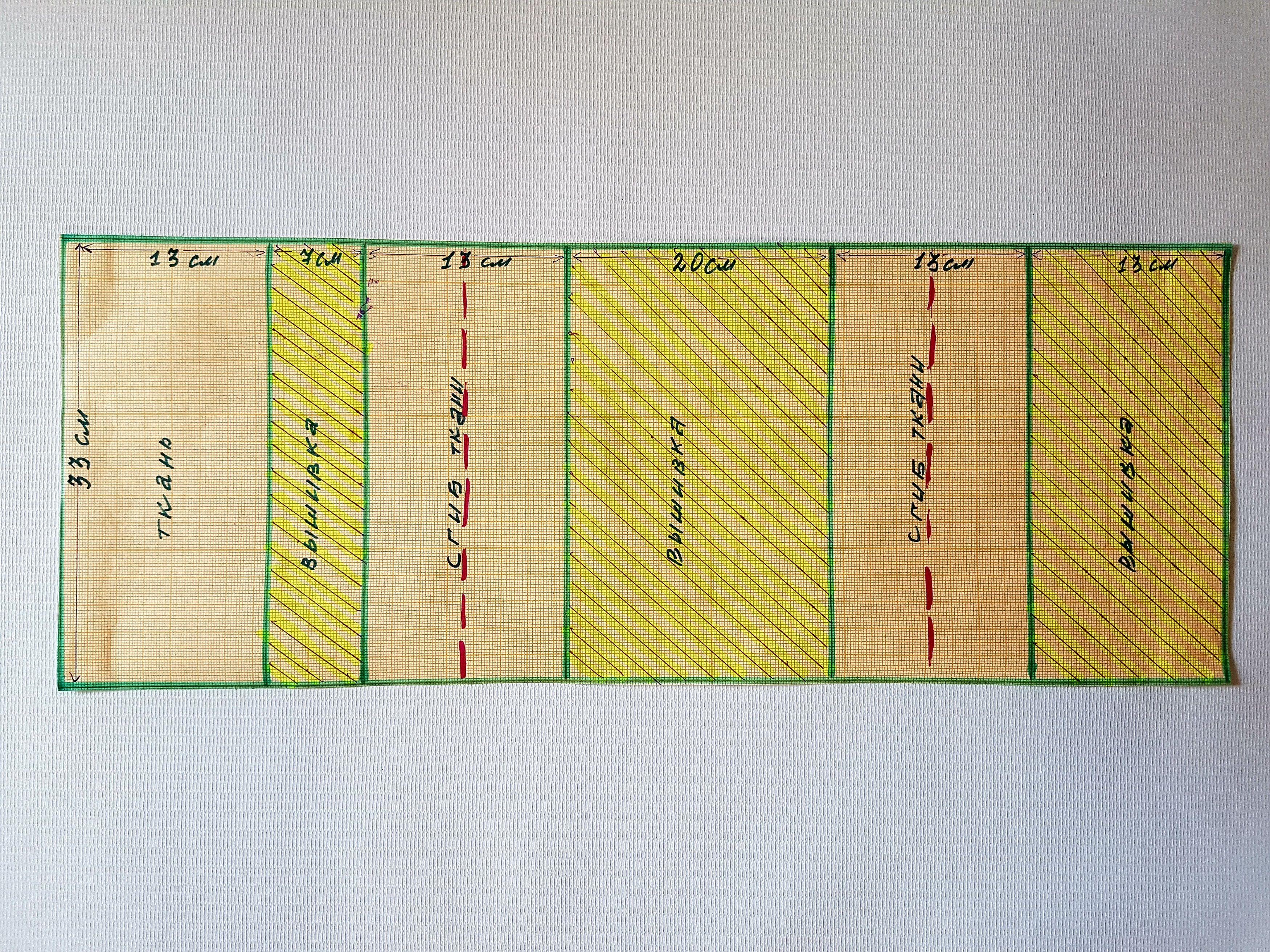 Вязание удлиненной спинки